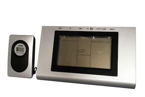 Погодная станция Buro H127G серебристый/черный цена и фото