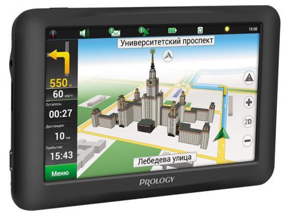 Навигатор Prology iMap-5950 Навител 5 800x480 SD черный навител навигатор венгрия румыния молдова [цифровая версия] цифровая версия