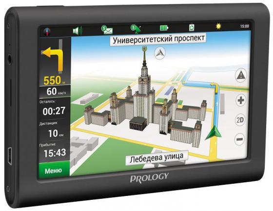 "цена на Навигатор Prology iMap-5900 Навител 5"" 800x480 SD черный"