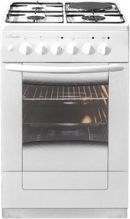 Комбинированная плита Лысьва ЭГ 1/3г01 М2С-2у белый электрическая плита лысьва эп 301 wh