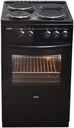 Электрическая плита Лысьва ЭП 301 СТ черный цена и фото