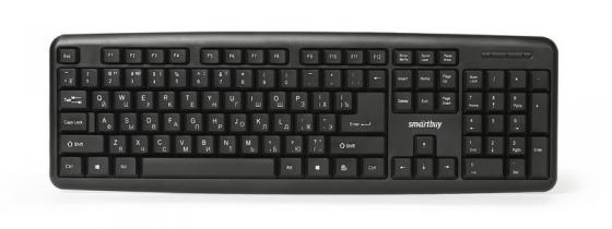 Клавиатура проводная Smart Buy ONE 112 USB черный SBK-112U-K