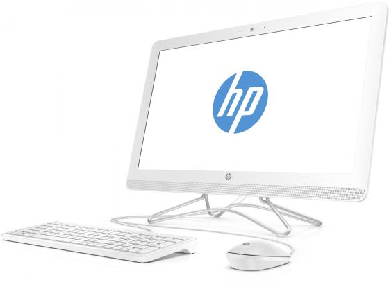 """Моноблок 23.8"""" HP 24-e046ur 1920 x 1080 Intel Core i3-7100U 4Gb SSD 256 nVidia GeForce GT 920МХ 2048 Мб Windows 10 белый 2BW40EA"""