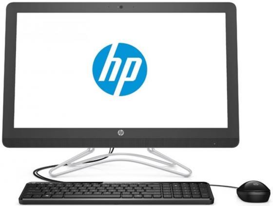 """Моноблок 23.8"""" HP 24-e048ur 1920 x 1080 Intel Core i3-7100U 4Gb 1Tb GeForce GT 920MX 2048 Мб Windows 10 черный 2BW42EA"""