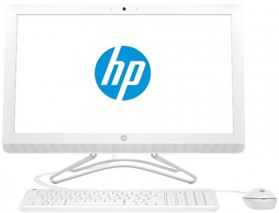 Моноблок 23.8 HP 24-e051ur 1920 x 1080 Intel Core i5-7200U 4Gb 1 Tb nVidia GeForce GT 920МХ 2048 Мб DOS белый 2BW44EA