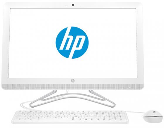 Моноблок 23.6 HP 24-e042ur 1920 x 1080 Intel Core i3-7100U 4Gb 1Tb Intel HD Graphics 620 DOS белый 2BW36EA ноутбук hp 15 bs027ur 1zj93ea core i3 6006u 4gb 500gb 15 6 dvd dos black