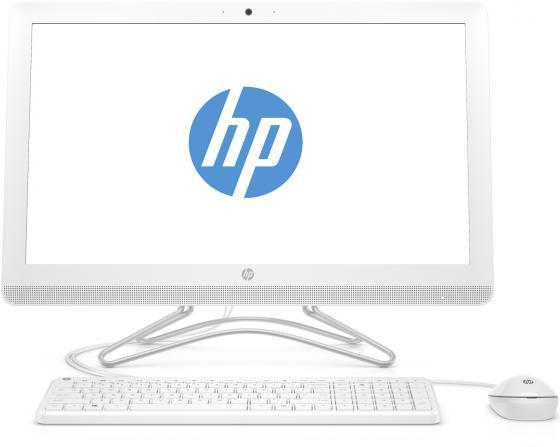 Моноблок 23.8 HP 24-e053ur 1920 x 1080 Intel Core i5-7200U 4Gb 1Tb nVidia GeForce GT 920МХ 2048 Мб Windows 10 белый 2BW46EA моноблок hp 24 e053ur 2bw46ea 2bw46ea