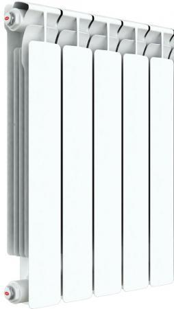Радиатор RIFAR A 500 (5 секций) (новый) (собранный) биметаллический радиатор rifar рифар b 500 нп 10 сек лев кол во секций 10 мощность вт 2040 подключение левое