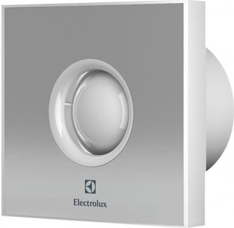 Вентилятор вытяжной Electrolux Rainbow EAFR-100 15 Вт серый бытовой вентилятор electrolux move eafv 100 с датчиком движения