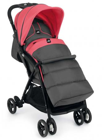 Коляска прогулочная Cam Curvi (121/темно-серый/розовый) прогулочные коляски cam curvi