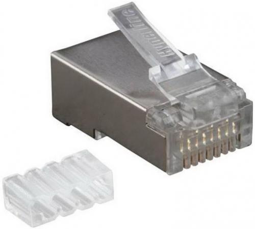 Упаковка коннекторов RJ-45 FTP 6 8P8C 100шт cтяжка пластиковая gembird nytfr 150x3 6 150мм черный 100шт