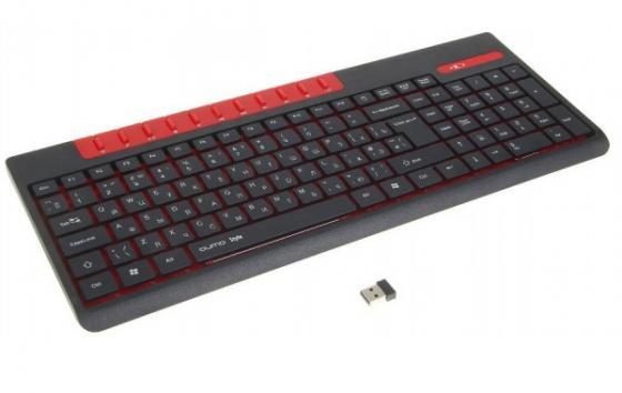 Клавиатура беспроводная QUMO Style K06 USB черный 21972