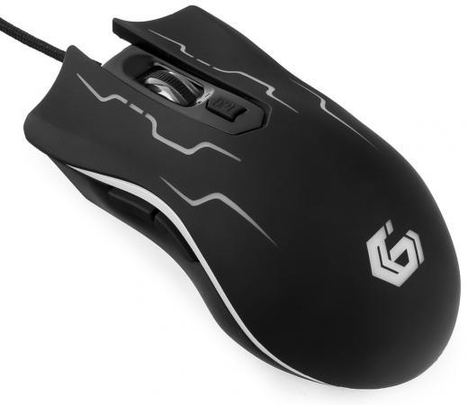 Мышь проводная Gembird MG-540 чёрный USB мышь проводная gembird mg 700 чёрный usb