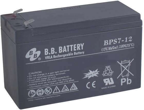 Батарея B.B. Battery BPS 7-12 7Ач 12B powerful 52v 1200w 1500w electric bike triangle battery 52v 20ah lithium battery with 40a bms and 58 8v 4a fast charger