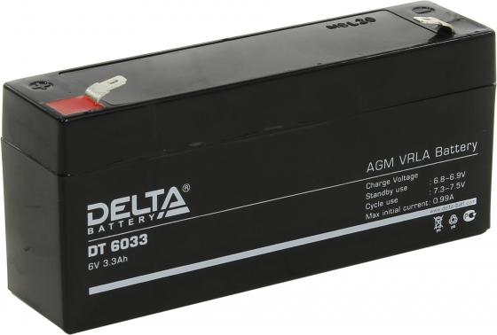 Батарея Delta DT 6033 3.3Ач 6B delta battery dt 1207 12v 7ah