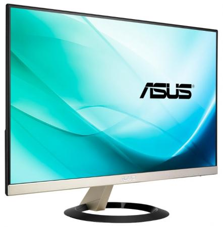 Монитор 23 ASUS VZ239Q черный IPS 1920x1080 250 cd/m^2 5 ms HDMI DisplayPort VGA Аудио 90LM033C-B02670 монитор asus vz239q 90lm033c b02670 black gold