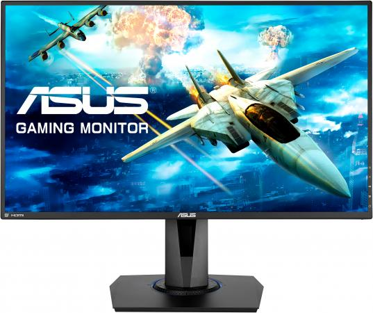 Монитор 27 ASUS VG275Q черный TFT-TN 1920x1080 300 cd/m^2 1 ms HDMI DisplayPort VGA Аудио 90LM03K0-B01370 монитор 27 asus vp278h tn led 1920x1080 1ms vga hdmi