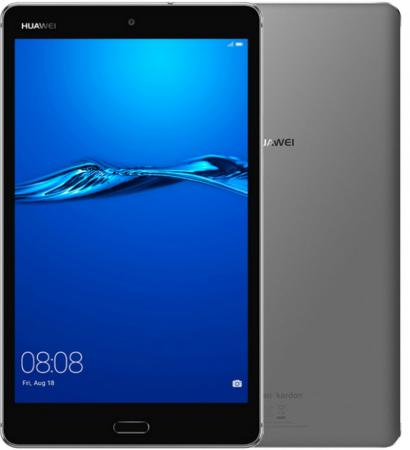Планшет Huawei MediaPad M3 Lite 8 32Gb серый Wi-Fi 3G Bluetooth LTE Android 53019449 CPN-L09 планшет hp x2 210 10 1 32gb серебристый wi fi bluetooth l5g89ea