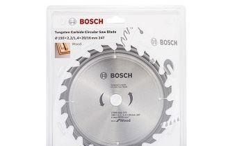 Пильный диск Bosch ECO WO 190x20/16-24T 2608644375 диск пильный твердосплавный bosch exp wo 165x20 48t 2 608 644 024