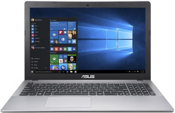 Ноутбук Asus K550VX-DM408D Core i5 6300HQ/4Gb/500Gb/SSD128Gb/nVidia GeForce GTX 950M 2Gb/15.6/FHD (1920x1080)/Free DOS/grey/WiFi/BT/Cam