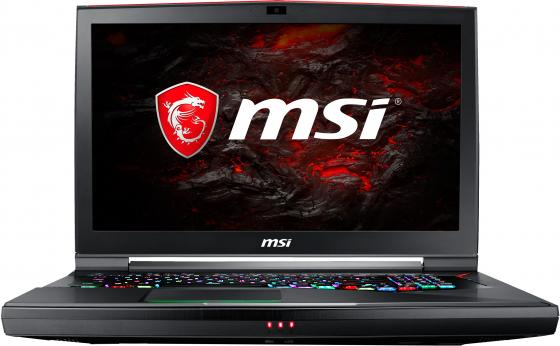 Ноутбук MSI GT75VR 7RE-054RU Titan SLI 4K 17.3 3840x2160 Intel Core i7-7820HK 1 Tb 512 Gb 32Gb 2х nVidia GeForce GTX 1070 8192 Мб черный Windows 10 Home 9S7-17A211-054 ноутбук msi gs43vr 7re 094ru phantom pro 9s7 14a332 094
