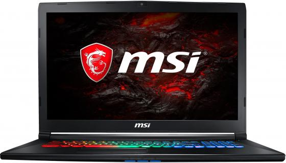 Ноутбук MSI GP72MVR 7RFX-635RU Leopard Pro 17.3 1920x1080 Intel Core i7-7700HQ 1 Tb 8Gb nVidia GeForce GTX 1060 3072 Мб черный Windows 10 Home 9S7-179BC3-635 ноутбук msi gs43vr 7re 094ru phantom pro 9s7 14a332 094