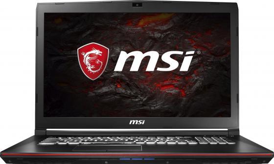 Ноутбук MSI GP72M 7RDX-1016RU Leopard 17.3 1920x1080 Intel Core i7-7700HQ 1 Tb 16Gb nVidia GeForce GTX 1050 4096 Мб черный Windows 10 Home 9S7-1799D3-1016 ноутбук msi gs43vr 7re 094ru phantom pro 9s7 14a332 094
