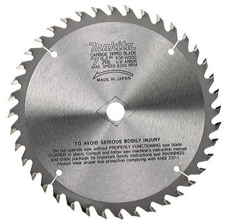 Пильный диск Makita Standard 260х30\\15.88х2.3мм 80зуб для дерева B-29256 диск пильный makita 260х30 16мм 100зубьев b 29321