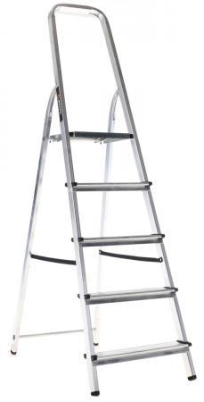 Лестница-стремянка Вихрь СА 1х5 алюминиевая стремянка вихрь са 1х3