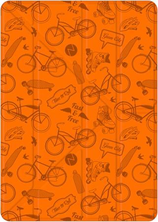Чехол-книжка Deppa Wallet Onzo Graffiti для iPad оранжевый 88034 стилус для планшета deppa ручка duo оранжевый 11509
