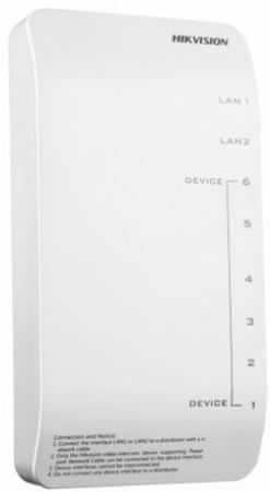 цена Коммутатор Hikvision DS-KAD606-P 8 портов онлайн в 2017 году