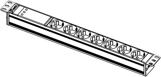 лучшая цена Блок розеток ЦМО R-10-7S-FI-440-Z 7 розеток