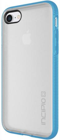 Чехол Incipio Octane для iPhone 7. Материал пластик. Цвет прозрачный/голубой. octane fitness pro4700touch