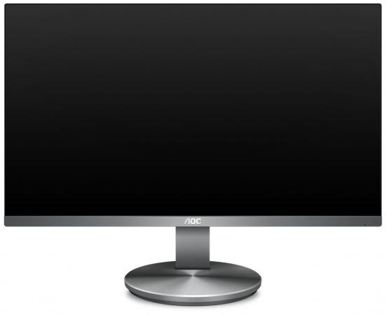 Монитор 27 AOC I2790VQ/BT черный IPS 1920x1080 250 cd/m^2 4 ms HDMI DisplayPort VGA Аудио монитор 27 aoc i2769vm серебристый черный ips 1920x1080 250 cd m^2 5 ms vga hdmi displayport аудио