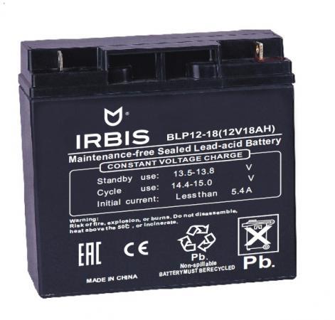 Батарея Irbis VRLA-AGM BLP12-18 18Ач 12B new tablet touch screen 7 for irbis tz47 3g irbis tz41 3g touch screen panel digitizer glass sensor replacement free shipping