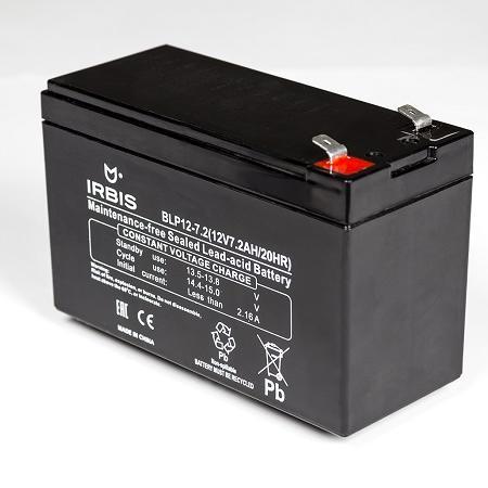 Батарея Irbis VRLA-AGM BLP12-7.2 7.2Ач 12B agm защищенный смартфон agm a8 mini black silver