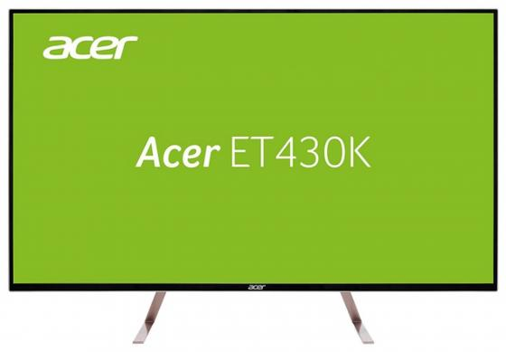 Монитор 43 Acer ET430Kwmiippx белый IPS 3840x2160 350 cd/m^2 5 ms HDMI DisplayPort Mini DisplayPort UM.ME0EE.010
