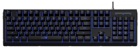 Клавиатура проводная Genius Scorpion K6 USB черный
