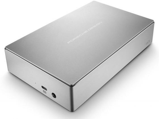 Внешний жесткий диск 3.5 USB Type-C 6Tb Lacie Porsche Design Desktop Drive STFE6000200 серебристый lacie porsche design desktop drive 4tb silver внешний жесткий диск stfe4000200