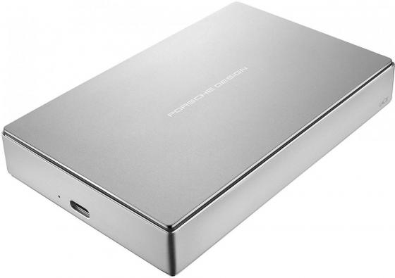 Внешний жесткий диск 2.5 USB Type-C 5Tb Lacie Porsche Design STFD5000400 серебристый 50pcs micro usb 3 0 male to usb c usb 3 1 type c female extension data cable for macbook tablet 10cm by fedex