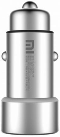 купить Автомобильное зарядное устройство Xiaomi GDS4048GL 2.4А 2 х USB серебристый GDS4042CN по цене 850 рублей