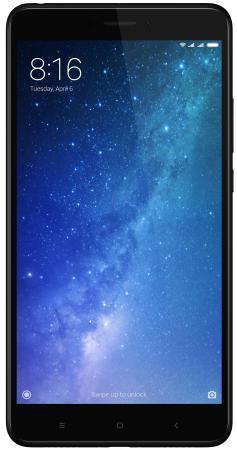 Смартфон Xiaomi Mi Max 2 черный 6.44 64 Гб LTE Wi-Fi GPS 3G MiMax2BL64GB смартфон asus zenfone live zb501kl золотистый 5 32 гб lte wi fi gps 3g 90ak0072 m00140