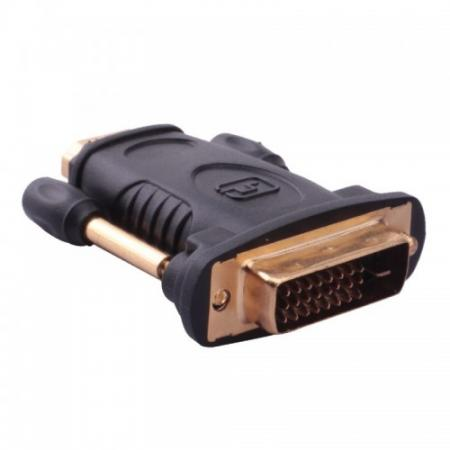 Переходник DVI M - HDMI F Vention DVI 24+1 M/ HDMI 19F DV380HD переходник video ningbo hdmi m dvi d f