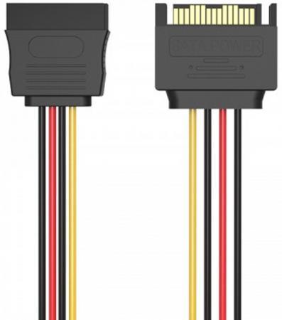 Кабель SATA - мSATA F 0.3м Vention KDABY кабель питания vention sata 15 pin m sata 15 pin f 0 3м
