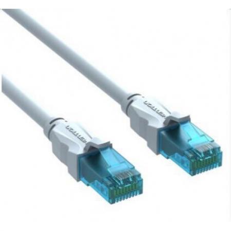 Патч-корд 5E категории UTP серый Vention 3м VAP-A10-S300 патч корд vention прямой utp cat 5е rj 45 1м серый vap a 10 s 100