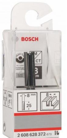 Фреза пазовая Bosch Std S8/D8/L25,4 2608628372 фреза пазовая bosch std s8 d6 l16 2608628379