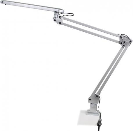 Настольная лампа Эра NLED-441 серебристый NLED-441-7W-S лампа настольная эра nled 426 3w bk