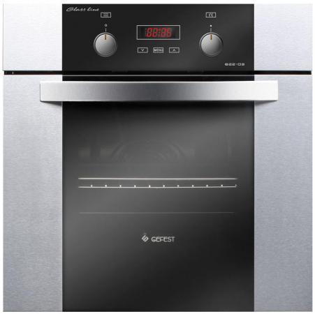 Электрический шкаф Gefest ДА 622-03 РН3 серебристый/черный цена и фото