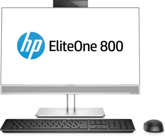 "Моноблок 23.8"" HP EliteOne 800 G3 AiONT 1920 x 1080 Intel Core i5-7500 8Gb SSD 256 Intel HD Graphics 630 Windows 10 Professional серебристый черный 1KA77EA"
