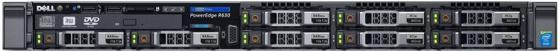 Сервер DELL PowerEdge R630 (210-ACXS/238) сервер dell poweredge r530 210 adlm 86 210 adlm 86